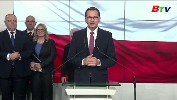 Ba Lan thành lập Chính phủ mới sau cuộc bầu cử