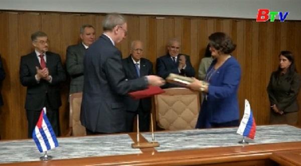 Nga, Cuba ký thỏa thuận hợp tác quốc phòng