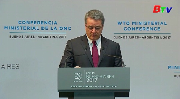 Khai mạc hội nghị bộ trưởng WTO lần thứ 11