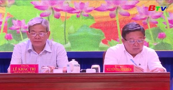 Hội nghị Ban Chấp hành Đảng bộ huyện Bàu Bàng lần thứ 33, khóa XI