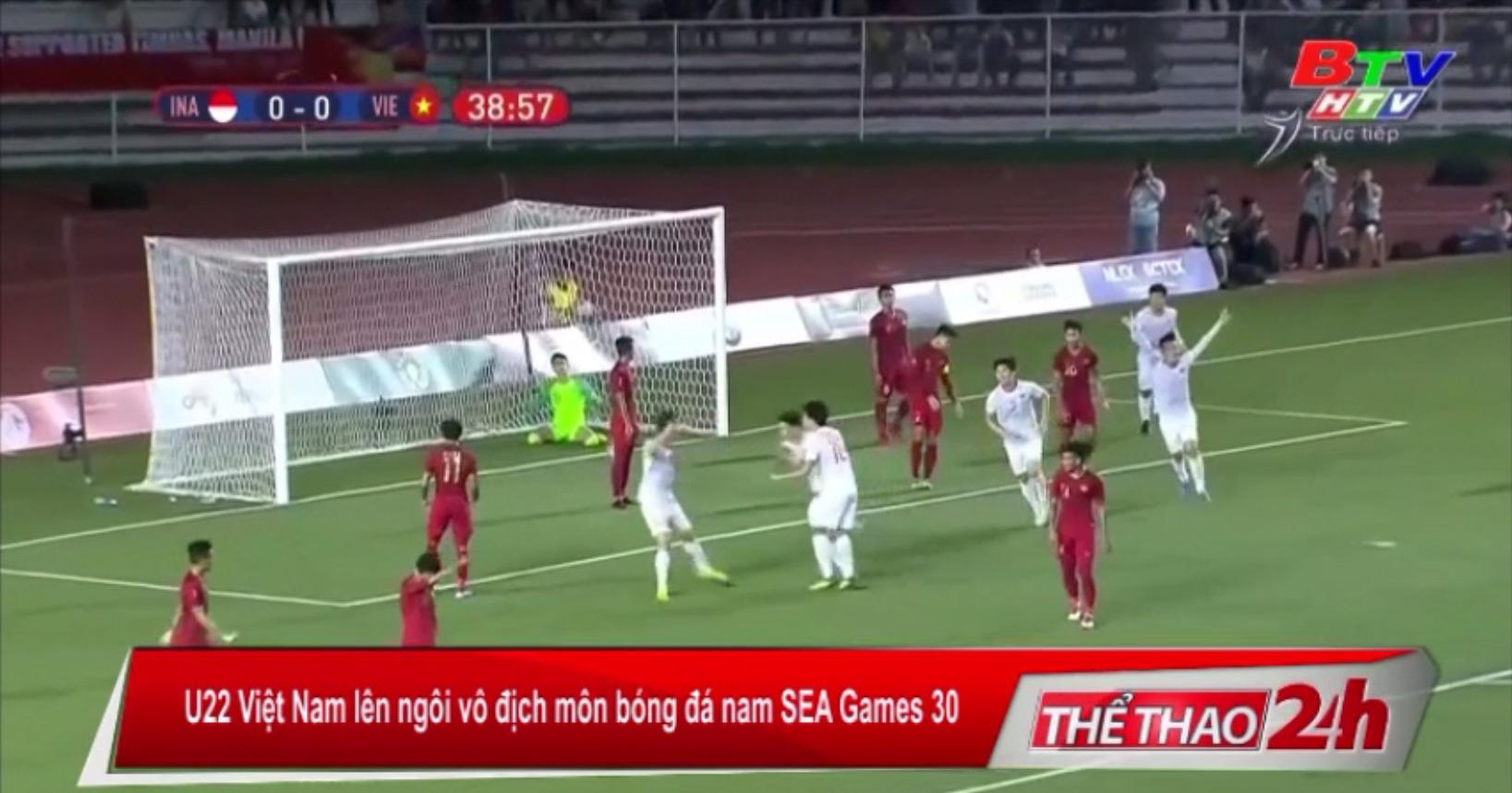 U22 Việt Nam lên ngôi vô địch môn bóng đá nam SEA Games 30
