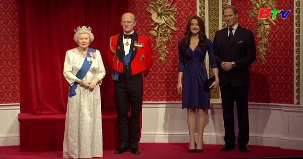 Bảo tàng sáp Madame Tussauds di dời tượng của vợ chồng hoàng tử Harry