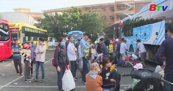 Bình Dương đảm bảo vận tải hành khách dịp tết nguyên đán 2018