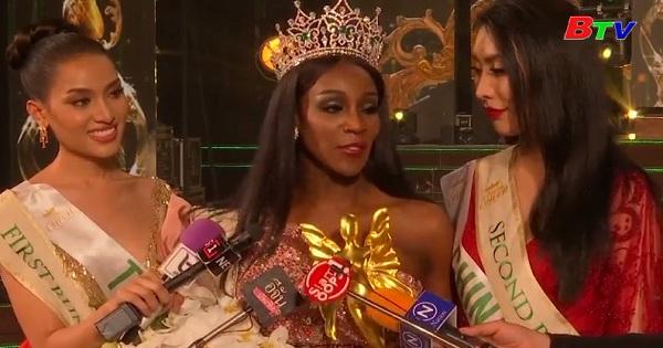 Đại diện Mỹ đăng quang hoa hậu chuyển giới Quốc tế 2019