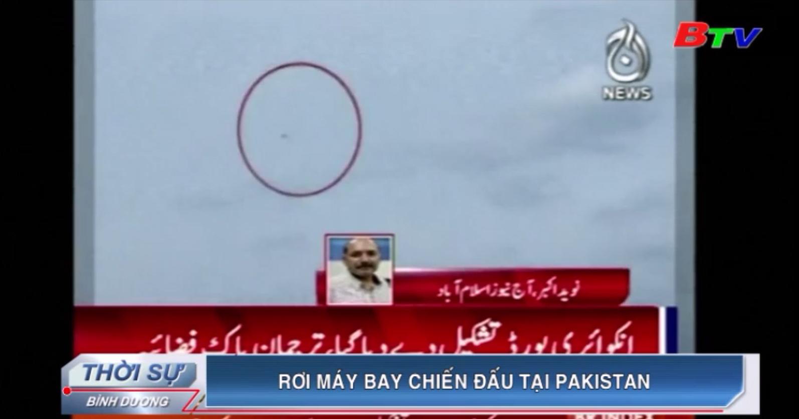 Rơi máy bay chiến đấu tại Pakistan