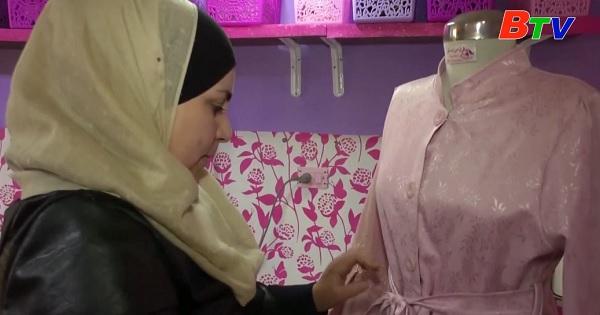 Người phụ nữ Syria vượt khó để theo đuổi ước mơ thiết kế thời trang