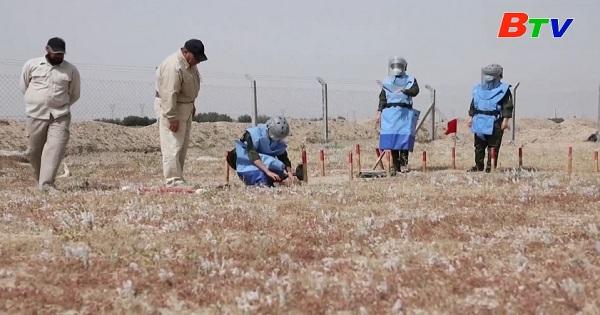 Đội dò mìn toàn nữ tại tỉnh Basra, Iraq