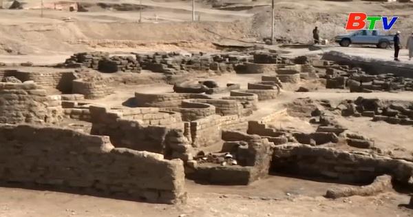 Ai Cập phát hiện tàn tích của thành phố nghìn năm tuổi