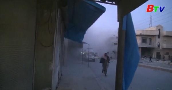 Hơn 10 dân thường thiệt mạng trong cuộc không kích của Mỹ tại Raqa