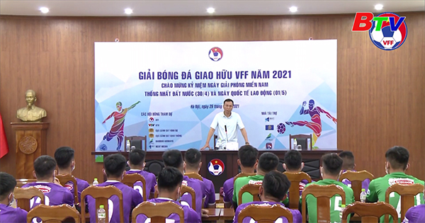 Lãnh đạo Liên đoàn Bóng đá Việt Nam gặp mặt đội tuyển U22 Việt Nam