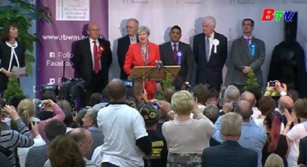 Công bố kết quả cuối cùng bầu cử ở Anh