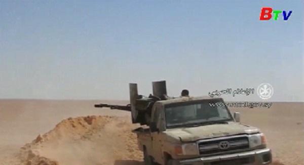 Quân đội Syria tiến sát tới biên giới Iraq