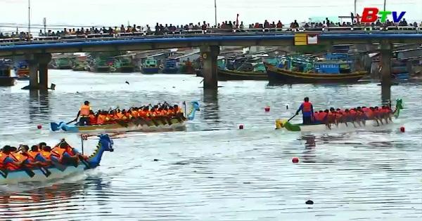 Kết thúc Giải đua thuyền truyền thống VĐQG 2018