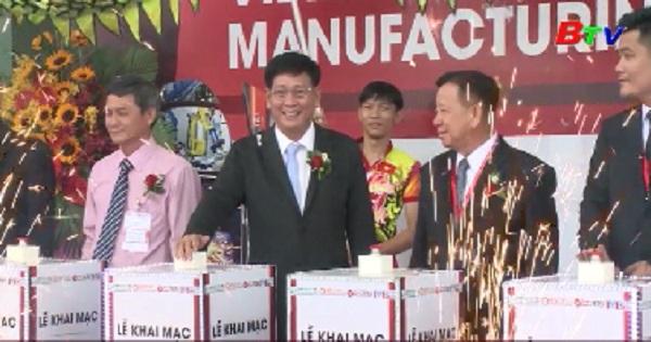 Khai mạc triển lãm công nghệ và sản xuất Việt Nam năm 2019