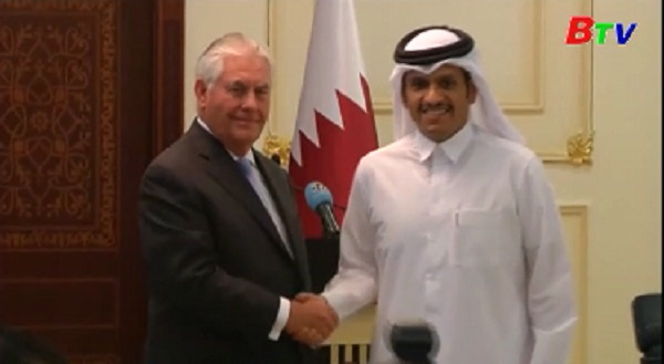 Mỹ vá Qatar ký thỏa thuận về chống khủng bố