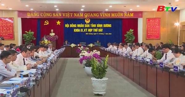 HĐND tỉnh Bình Dương khóa IX khai mạc kỳ họp lần thứ 7