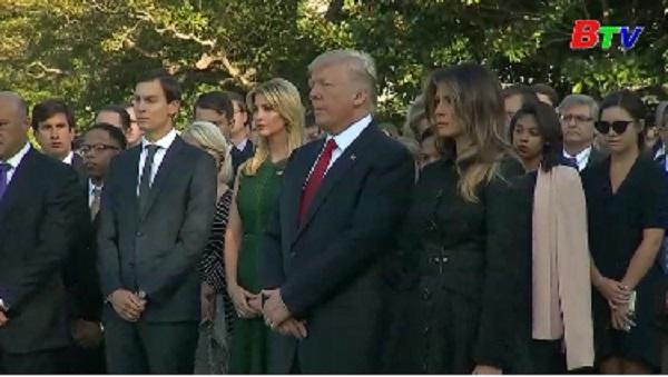 Mỹ tổ chức nhiều hoạt động tưởng niệm các nạn nhân vụ khủng bố 11/9