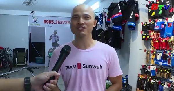 Gặp gỡ cựu VĐV xe đạp Đinh Quốc Việt