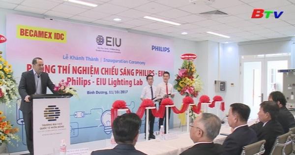 Đại học Quốc tế Miền Đông khánh thành phòng thí nghiệm chiếu sáng Philips - EIU