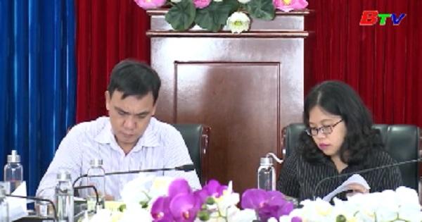 Hội đồng nhân dân tỉnh giám sát các sở, ngành về việc thực hiện Nghị quyết 15