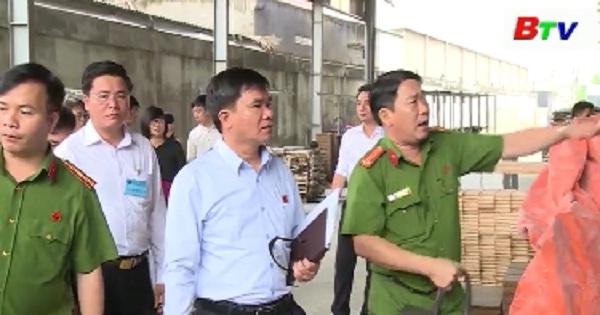 Giám sát tình hình cấp phép đầu tư dự án sản xuất tại Tân Uyên