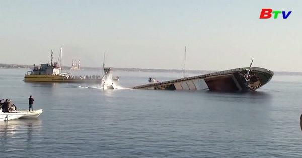 Cộng hòa Síp đành chìm tàu chở hàng để tạo ra rạn san hô nhân tạo