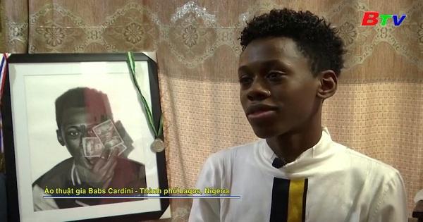 Nhà ảo thuật trẻ xây dựng sự nghiệp ở Nigeria