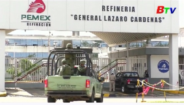 Mexico rơi vào tình trạng thiếu cung ứng xăng tạm thời