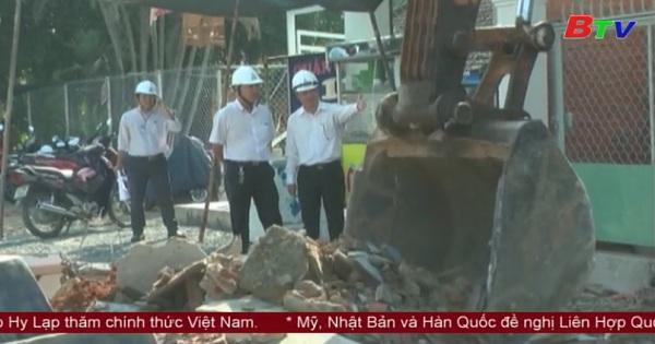 UBND Thành phố Thủ Dầu Một tiến hành công tác giải phóng mặt bằng