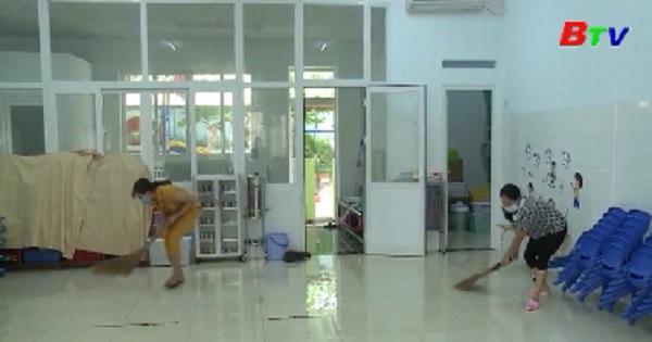 Bình Dương chuẩn bị trường lớp cho học sinh nhập học trở lại