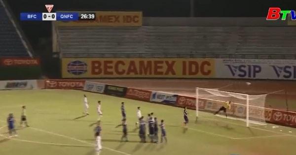 B. Bình Dương thất bại trước trận Quảng Nam ở vòng 9 Toyota V.League 2017