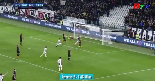 Vòng 28 Serie A-Juventus 2-1 AC Milan