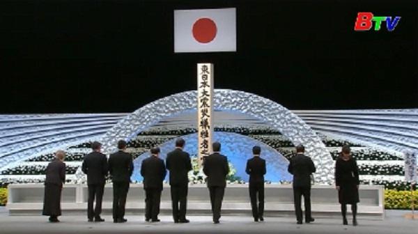 Nhật Bản tưởng niệm 6 năm thảm họa động đất, sóng thần xảy ra