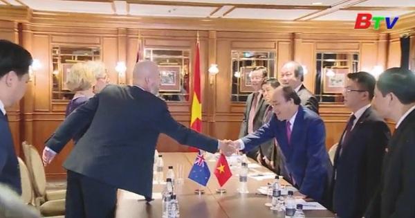 Hoạt động của thủ tướng Nguyễn Xuân Phúc tại New Zealand