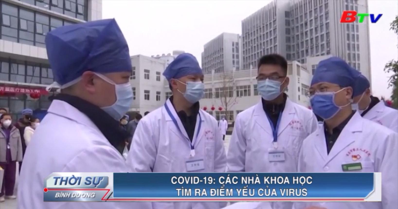 Covid-19 – Các nhà khoa học tìm ra điểm yếu của virus