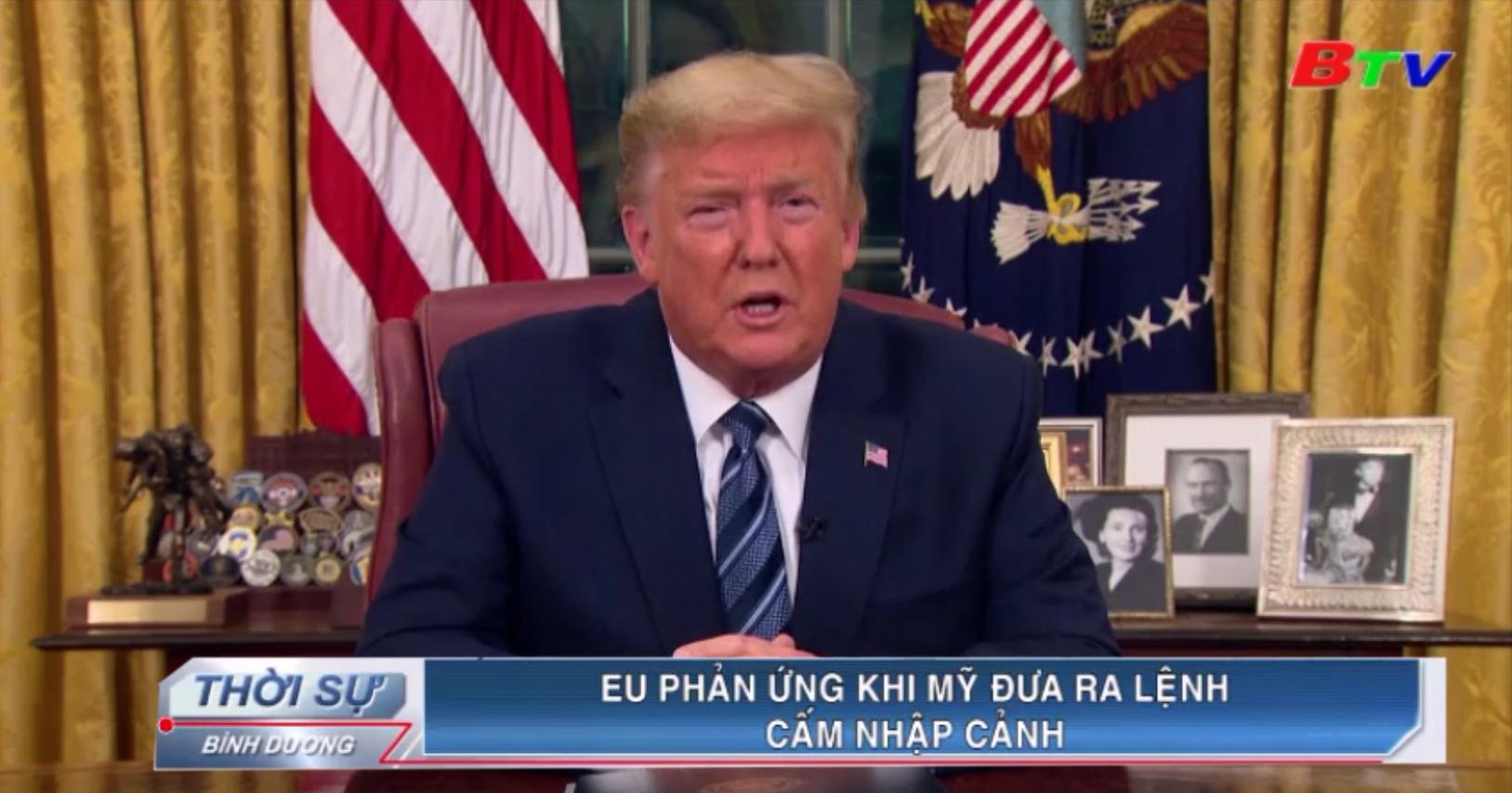EU phản ứng khi Mỹ đưa ra lệnh cấm nhập cảnh