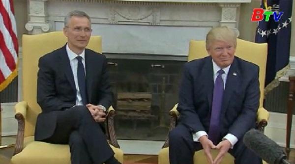 Tổng thống Mỹ tiếp Tổng thư ký NATO
