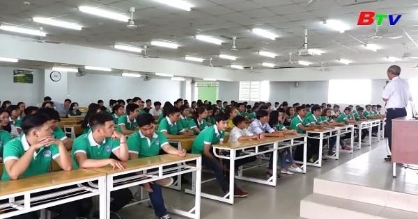 Đại học Kinh tế Kỹ thuật Bình Dương với chiến lược đào tạo và công tác tuyển sinh