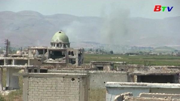 Quân đội Syria trút hỏa lực dữ dội vào khu vực phía Nam tỉnh Idlib