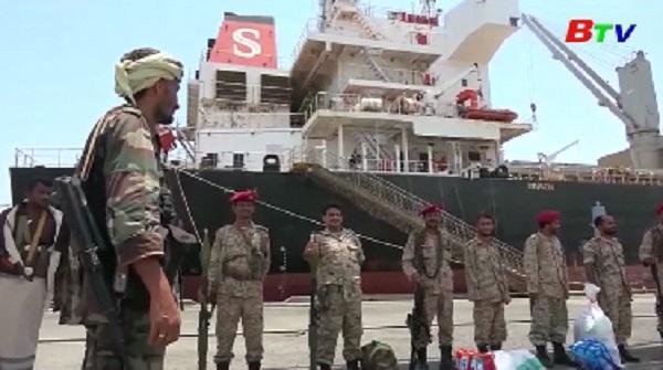 LHQ xác nhận lực lượng Houthi rút khỏi các cảng chủ chốt của Yemen