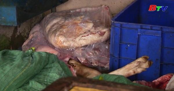 Đồng Nai tiêu hủy hơn 1,4 tỷ tấn thịt heo không rõ nguồn gốc