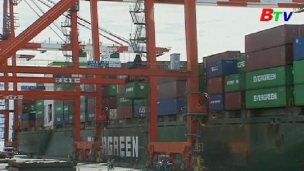 Giá trị đơn đặt hàng máy móc của Nhật giảm lần đầu trong 3 tháng