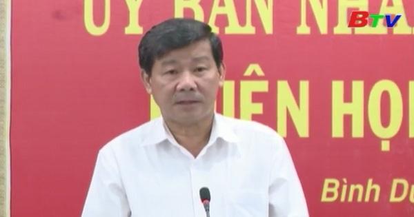 UBND tỉnh Bình Dương tổ chức phiên họp thường kỳ tháng 6/2017