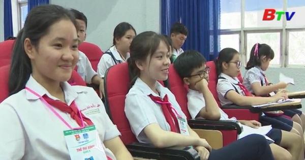 Khai mạc Hội thi tin học trẻ tỉnh Bình Dương lần thứ XXII
