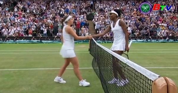 Kết quả vòng tứ kết nội dung đơn nữ giải quần vợt Wimbledon 2017