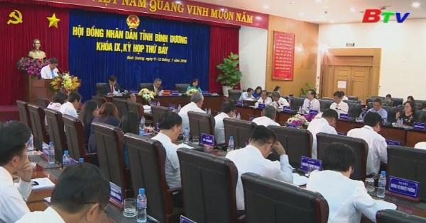Chất vấn và trả lời chất vấn tại kỳ họp thứ 7 - HĐND tỉnh khóa IX