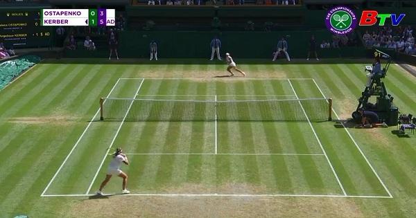 Angelique Kerber vào chung kết Giải Wimbledon 2018