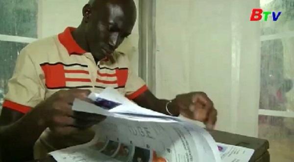 Mali tổ chức bầu cử Tổng thống vòng 2
