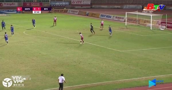 Vòng 20 V.League 2019: Sài Gòn FC - Becamex Bình Dương 0-1