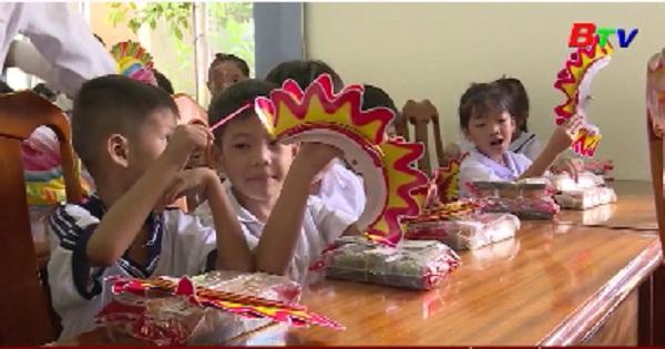 Bình Dương chăm lo tết trung thu cho trẻ em